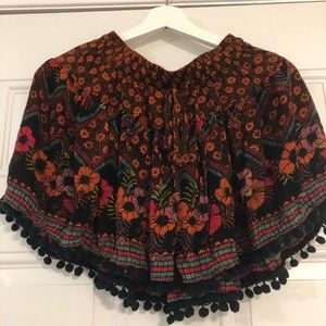 Patrons Of Peace Boho Tassled Floral Skirts